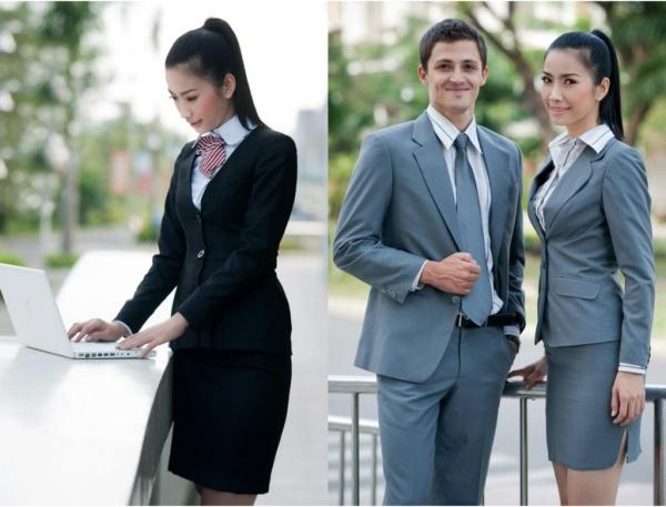 Những mẫu đồng phục đẹp cho dân văn phòng